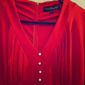 Women's midi casual/career dress. 2X